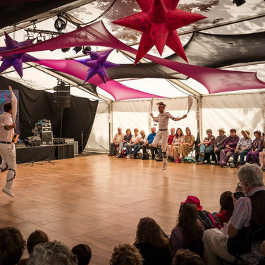 Dancing at Sidmouth Folkweek 2015