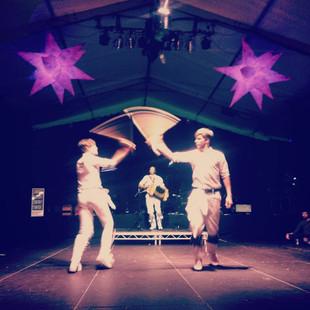 Dancing with JBS at Sidmouth Folkweek