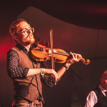 Performing at Sidmouth Folkweek 2017