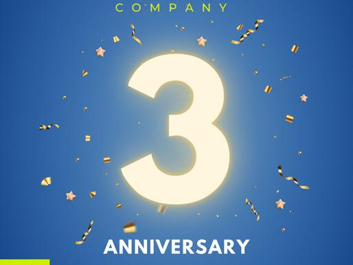 TS DANCE COMPANY 3周年を迎えました!