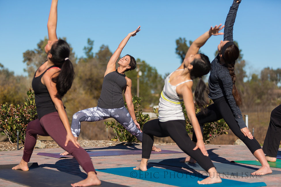 Michelle Trabelsi -Temecula Yoga in the