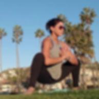 Michelle Trabelsi-Beach Yoga-La Jolla, C