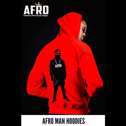 AFRO Man Unisex Hoodies