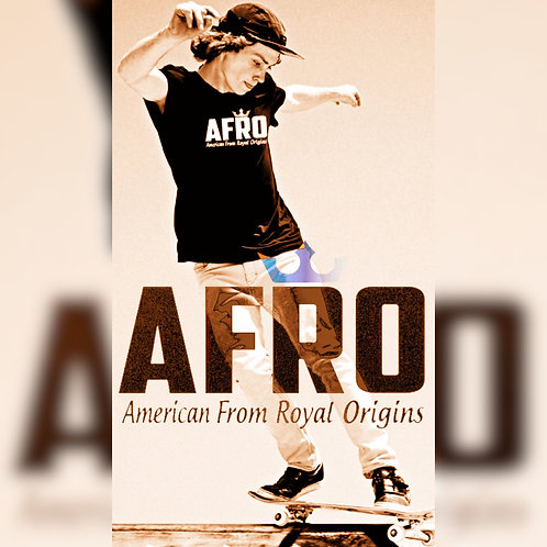 AFRO Royal Classic V-Neck Tee