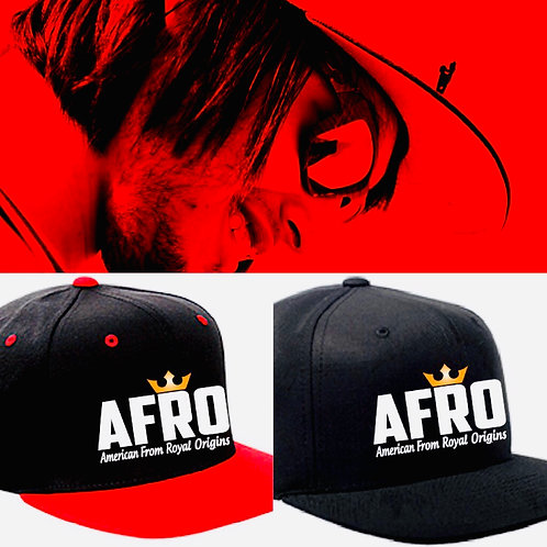 AFRO Royal Crown Snapback Caps