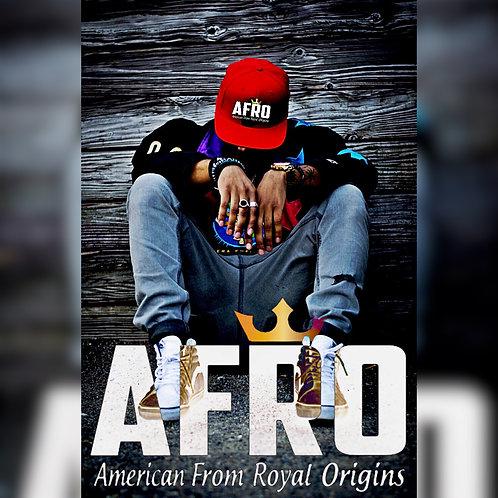 AFRO Royal Crown Flex-Fit Caps