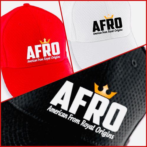 AFRO Royal Crown Athletic Mesh Caps