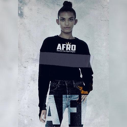 AFRO Royal Cropped Sweatshirts