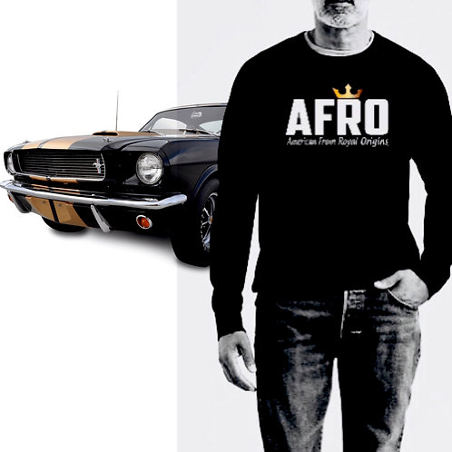 AFRO Royal Crew-Neck Sweatshirts