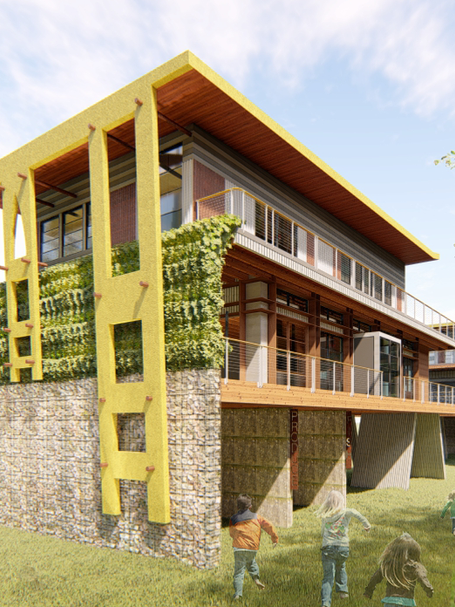 Gullah Geechee Community Event Buildings