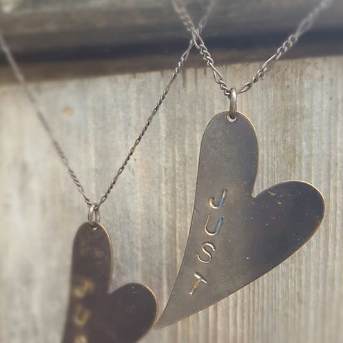 """""""Just Love"""" Necklace"""
