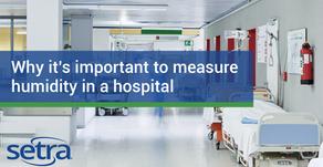 병원의 습도를 측정하는 것이 중요한 이유