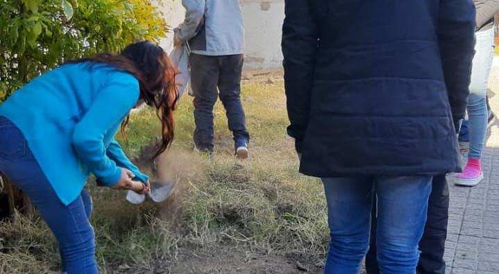"""Proyecto de Huerta en """"Un Mundo Mejor"""""""