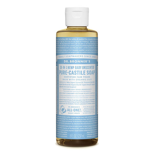 Dr. Bronner's Pure Castile Soap Unscented