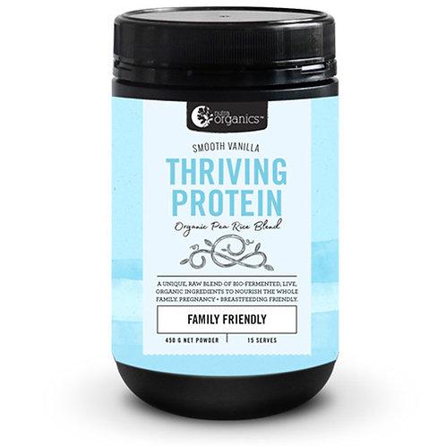 Nutra Organics Thriving Protein Smooth Vanilla