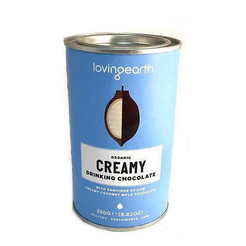 Loving Earth Organic Creamy Drinking Chocolate 250g