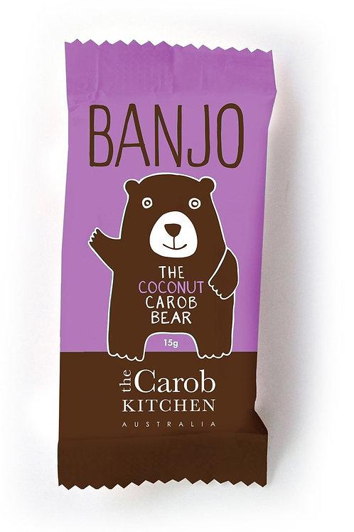 Banjo Coconut Carob bear