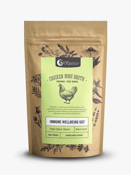 Nutra Organics Chicken Broth -Garden Herb
