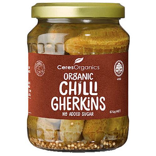 Ceres Organic Chilli Gherkins