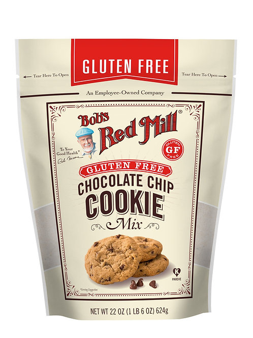 Bobs Red Mill - Choc Chip Cookie Mix 624g
