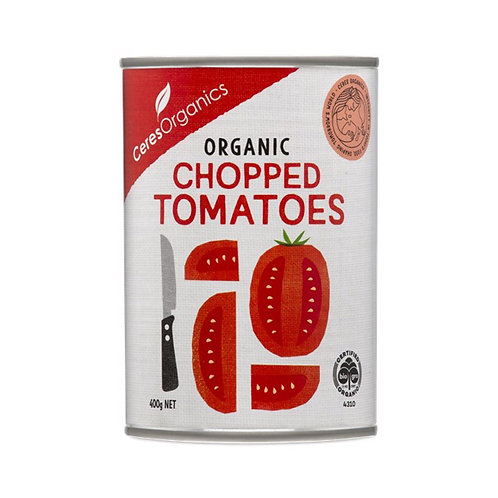 Ceres Organic Chopped Tomatoes