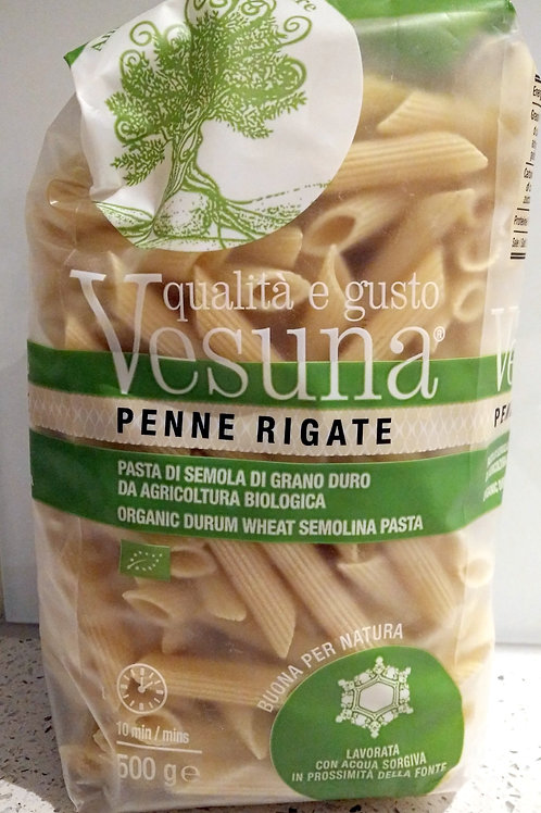 Vesuna Organic Penne Pasta 500g