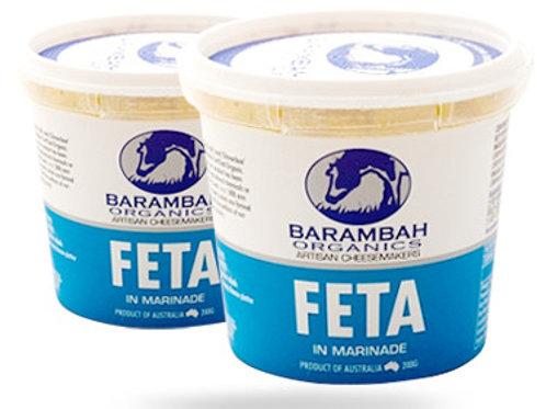 Barambah Organics Marinated Fetta