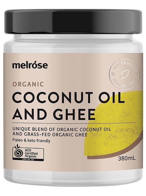 Melrose Organic Coconut Oil & Ghee