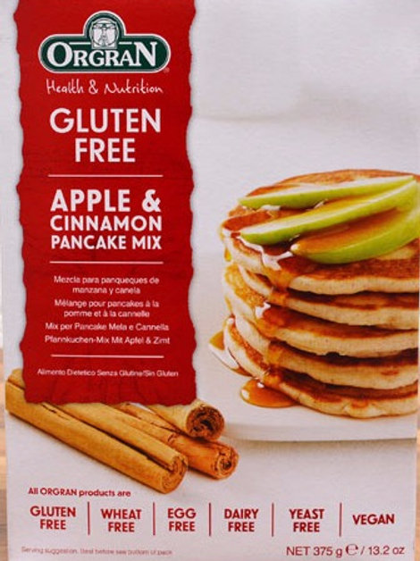 Orgran Gluten Free Apple & Cinnamon Pancake Mix