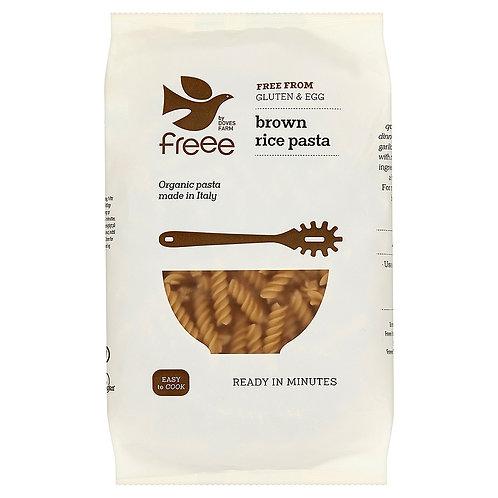 Doves Farm GF Brown Rice Pasta - Fusilli