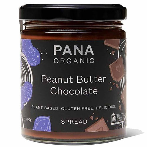 Pana Chocolate Peanut Butter Chocolate Spread