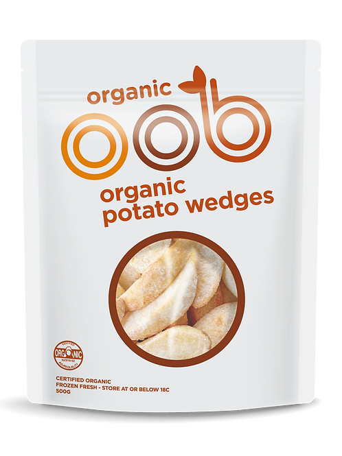 Organic Potato Wedges