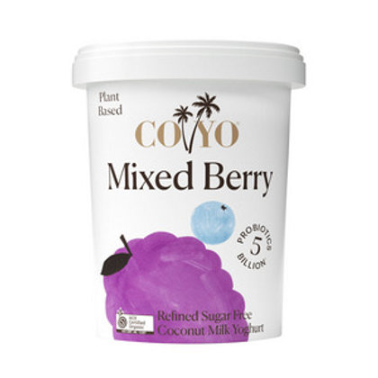 Coyo Organic Mixed Berry Yoghurt 500g