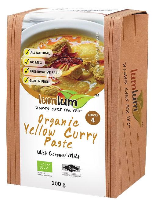 Lum Lum- Organic Yellow Curry Paste