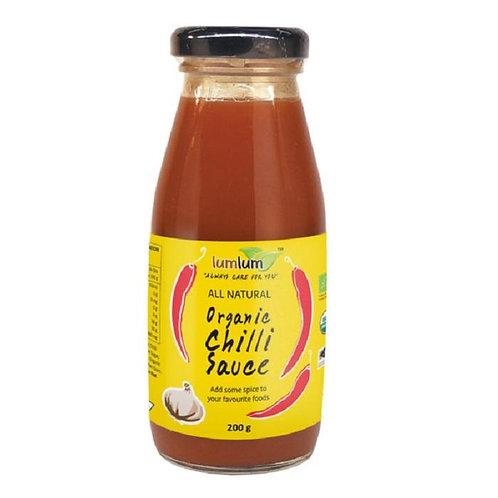 Lum Lum- Organic Chilli Sauce 200g