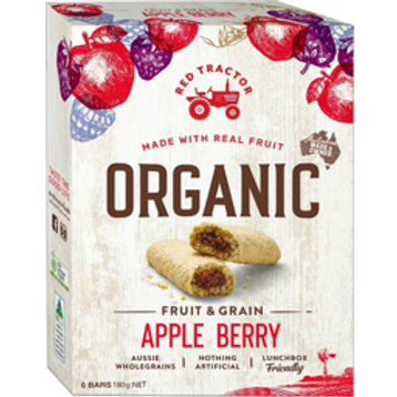 Red Tractor Organic Apple Berry Bars