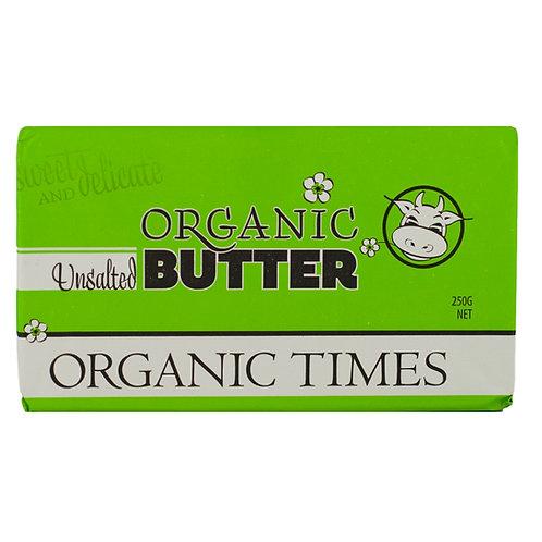 Organic Unsalted Butter