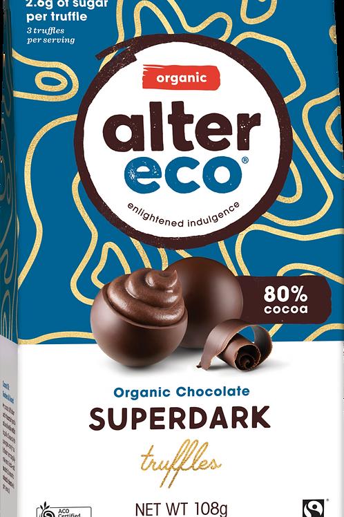 Alter Eco Organic -  Super Dark Chocolate Truffles