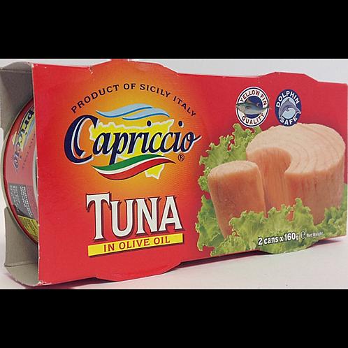 Capriccio Tuna In Olive Oil 3 x Cans