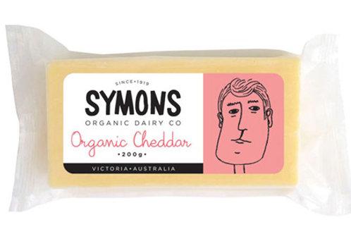 Organic Cheddar 200g Symons