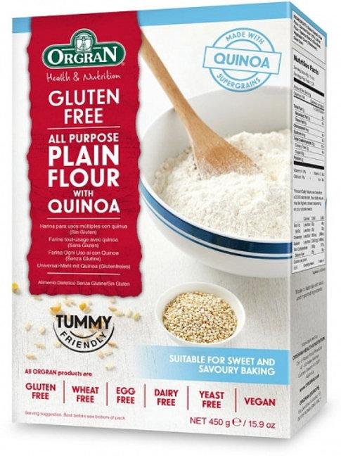 Orgran Gluten Free Plain flour with Quinoa