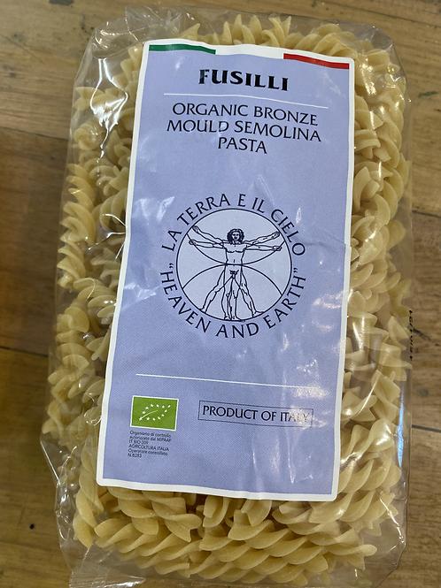 La Terra Organic Semolina Pasta - Fusilli 500g