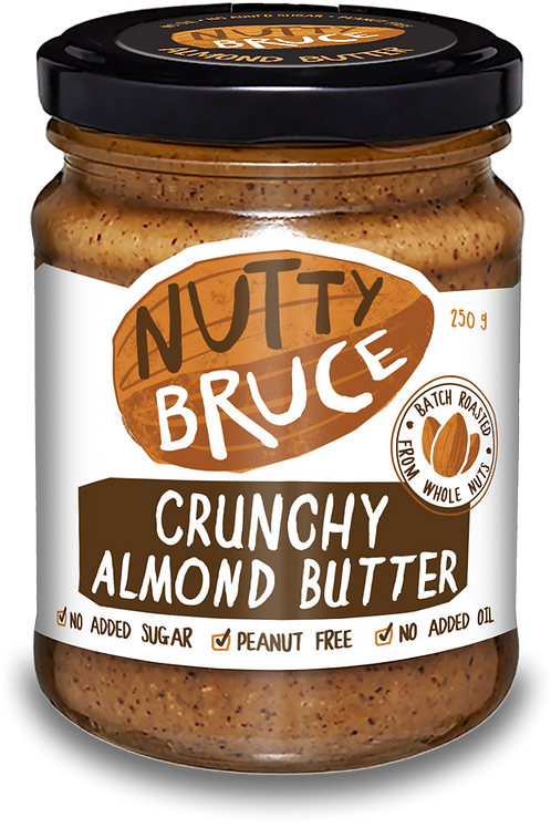 Nutty Bruce Crunchy Almond Butter