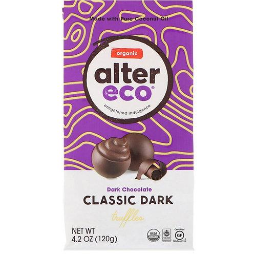 Alter Eco Organic -  Classic Dark Chocolate Truffles