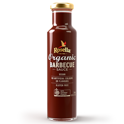 Rosella Organic Barbecue Sauce 250ml