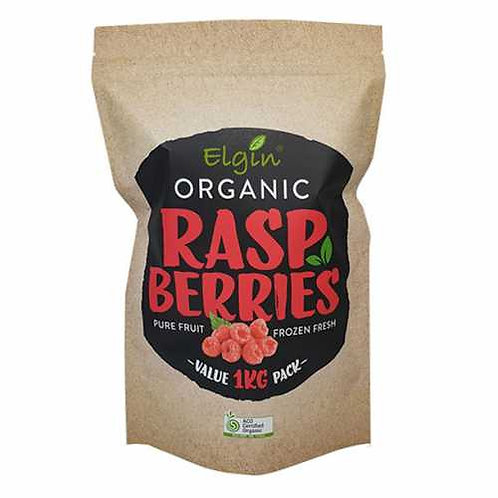 Elgin Frozen Organic Raspberries 1kg
