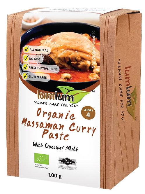 Lum Lum- Organic Massaman Curry Paste