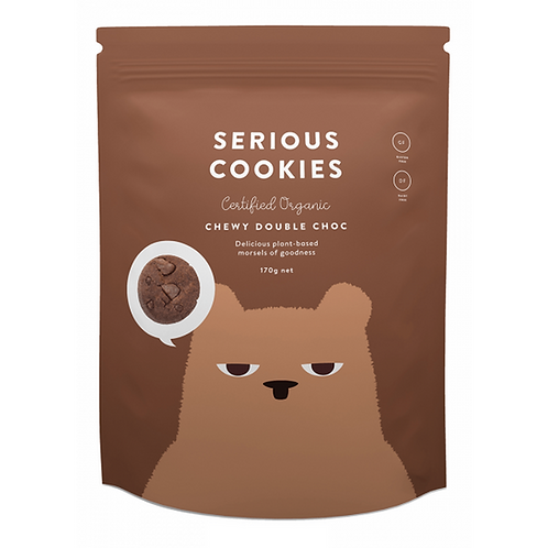 Serious Cookies - Organic Chewy Double Choc