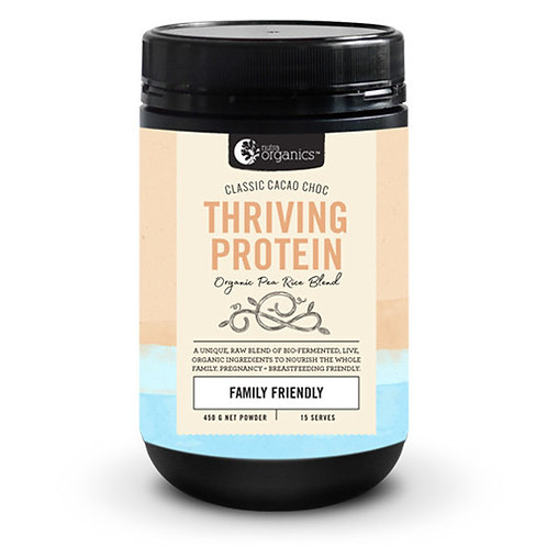 Nutra Organics Thriving Protein Classic Cacao Choc