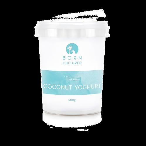 Born Cultured Organic Coconut Yoghurt 500g -Natural